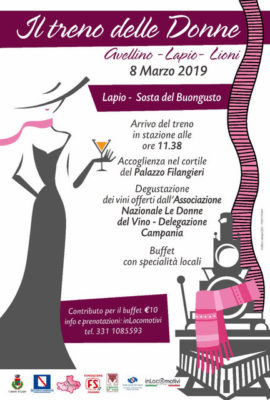 Donne del vino Locandina-Treno-per-Lapio