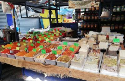 Masada - Gerusalemme Mercato-delle-spezie