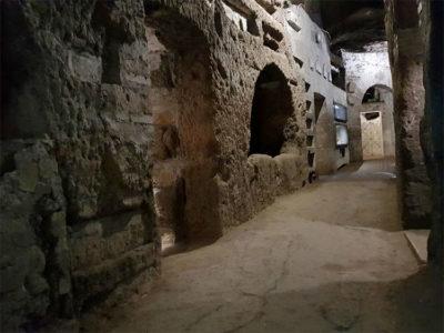 Roma sotterranea Catacombe-di-San-Callisto