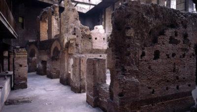 Roma sotterrane Resti Stadio Domiziano