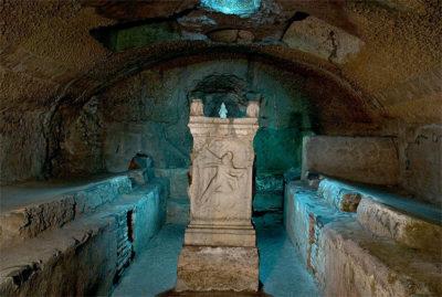 Roma sotterranea Basilica San Clemente-tempio-pagano