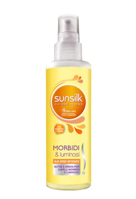 Festa della donna Sunsilk_MorbidieLuminosi_Olio-Spray-Nutriente
