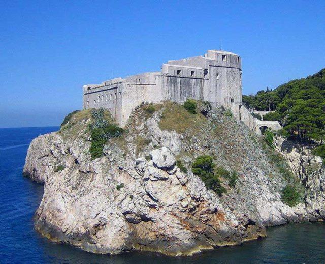 Trono di spade Fort Lovrijenac,