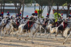 Pastrengo Carosello dei Carabinieri a cavallo