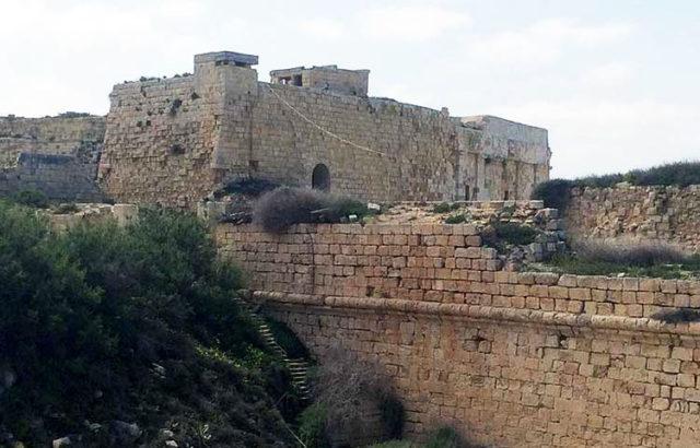 Trono di spade Fort Ricasoli buildings