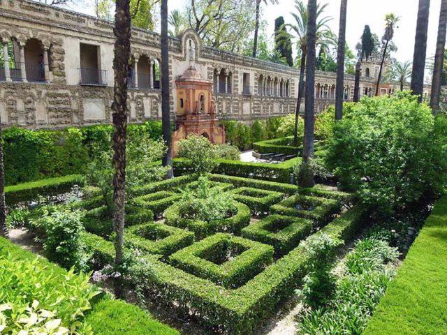 Il Trono di spade I giardini di Real Alcázar di Siviglia