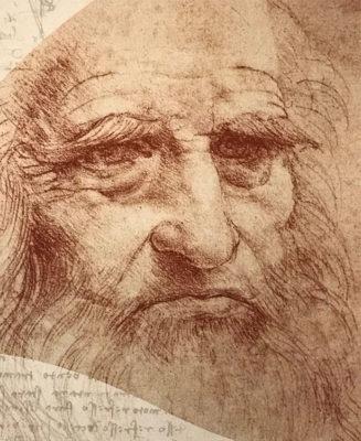 Leonardo disegnare il futuro autoritratto