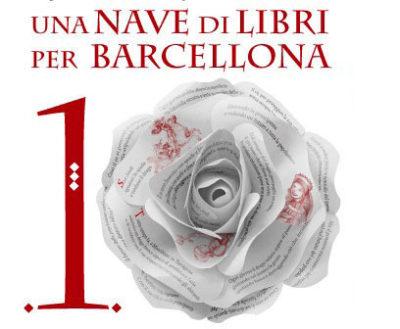 Logo una nave di libri per Barcellona