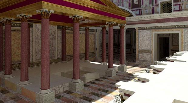 Riapre la Domus Transitoria, la prima casa di Nerone sul Palatino