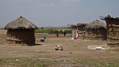 Tanzania Capanne nel Villaggio Masai di Duka Bovu (ph: © D. Penati – Mondointasca.it)