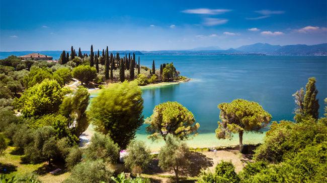 Baia delle Sirene, Lago di Garda