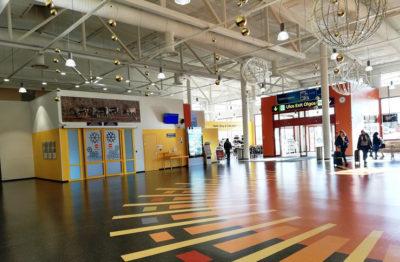 Aeroporto di Ivalo Salone centrale, foto-G.-Nitti