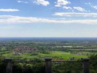 Panorama da Castagna Amara con vista verso sud