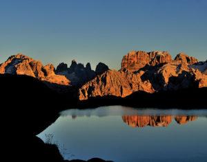 Dolomiti di Brenta viste da Lago Nero (Ph: T. Monchen)
