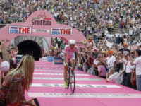 Verona in festa per la cronometro del Giro d'Italia