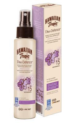 HawaiianTropicDuoDefenceRinfrescanteSpray