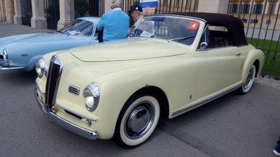 Villa Reale Monza Lancia Aprilia Cabriolet 1949