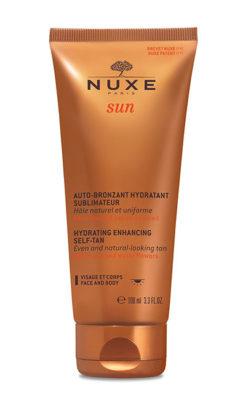 raggi solari Nuxe-Sun_Autoabbronzante-idratante