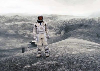 "spazio Dal film ""Interstellar"""