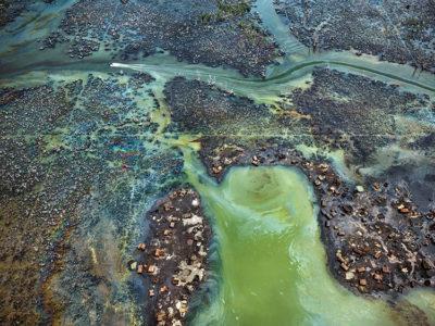 Bunkeraggio di petrolio_Niger Delta Nigeria 2016