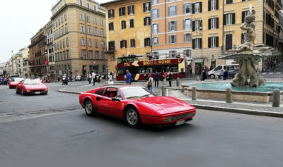 Ferrari-a-piazza-Barberini,-foto-G.-Nitti