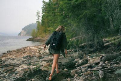 Backpacking zaino in spalla estate