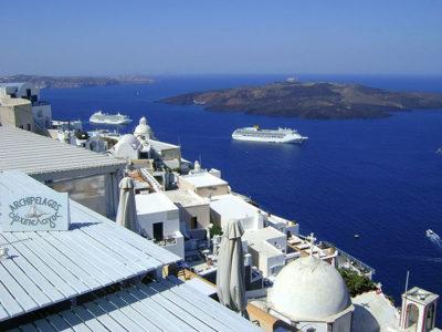 Caldera_vulcano_Santorini Grecia