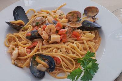 Lido-Blu-limguine ai frutti di mare © Mondointasca.it