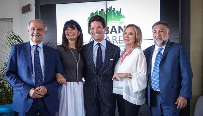 Urban Award, Renato Di Rocco, Ludovica Casellati, Matteo Marzotto, Rosanna Lambertucci, Rosario Rasizza (foto: Guido Rubino)