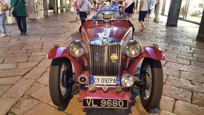 Auto dell'anteguerra: MG TA (ph. Paolo Gamba © Mondointasca.it)