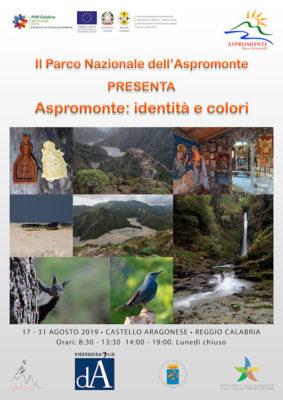 Aspromonte identità e colori Locandina_Mostra