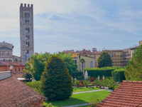 Lucca, chiesa e campanile di San Frediano