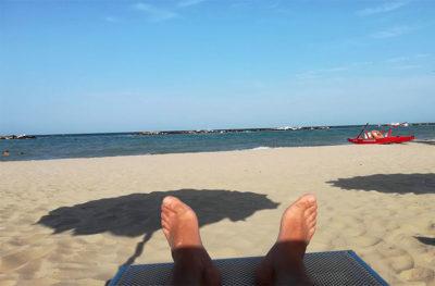 Odio l'estate mare