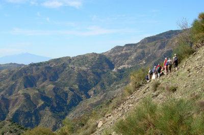 Parco in mezzo al mare Trekking-Aspromonte