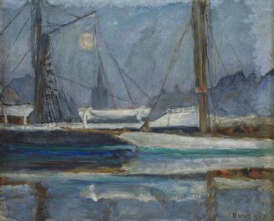Pierre Bonnard Il Bacino degli Yachts a Deauville, 1910