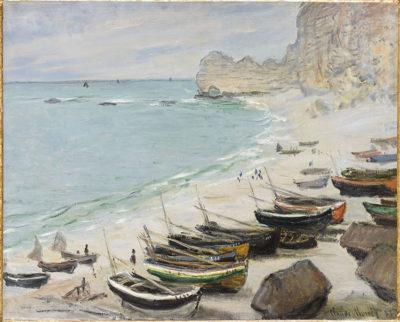 Monet e gli impressionisti Eugène Delacroix Falesie a Dieppe, 1834