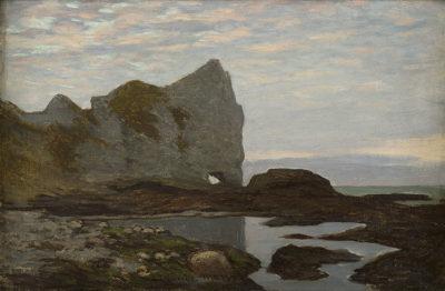 Claude Monet, Étretat, 1864