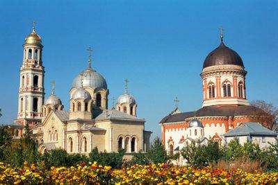 Moldova Noul Neamt-monastery in Chitcanii