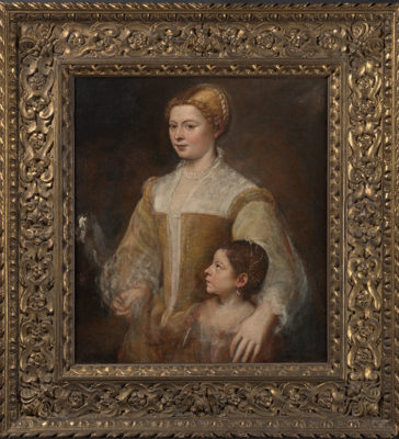 da Tiziano a Rubens Titian_Portrait-of-a-Lady-and-her-Daughter_