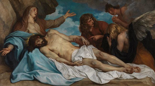 "Anthony van Dyck (1599–1641), ""Il compianto sul Cristo morto"" © Royal Museum of Fine Arts Antwerp"
