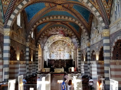 Bobbio, Duomo,-interno