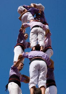 Castellers-a-Santa-Tecla_Oriol-Llauradó_Agència-Catalana-de-Turisme