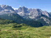 Vista sulle Dolomiti