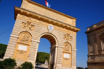 Montpellier.-Place-Royale-du-Peyrou-Arco-di-Trionfo (foto: d. bragaglia© mondointasca.it)