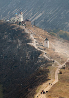 Moldova Orheiul-Vechi-Monastery