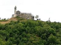 Monastero di S. Agostino, fra Val Nure e Val Trebbia