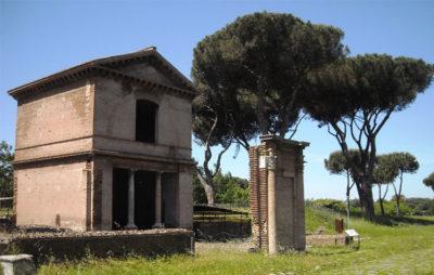 Tombe Via Latina Sepolcro Valeri (© l'asino d'oro associazione culturale)