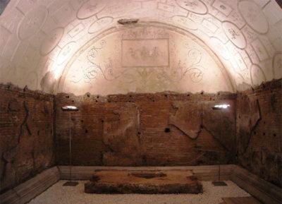 Tombe-Via Latina Sepolcro dei Valeri (© l'asino d'oro associazione culturale)