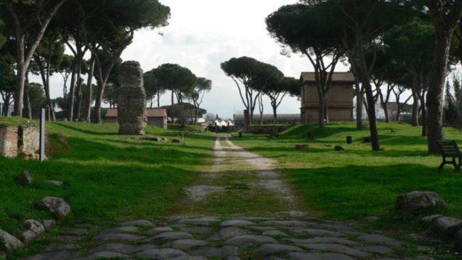 Tombe via Latina ©Parco Archeologico