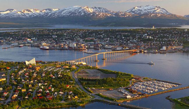 Veduta di Tromsø